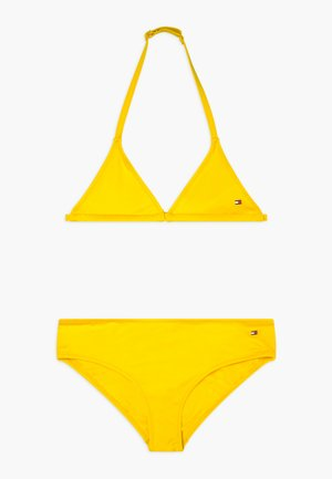 TRIANGLE SET - Bikini - yellow