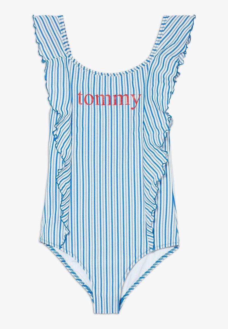 Tommy Hilfiger - ONE PIECE - Costume da bagno - blue
