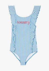 Tommy Hilfiger - ONE PIECE - Costume da bagno - blue - 2