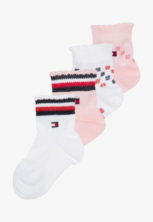 BABY GIRLS CUTE 4 PACK - Chaussettes - light pink