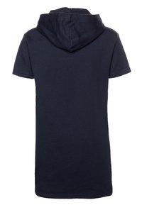 Tommy Hilfiger - HOODIE DRESS - Denní šaty - blue - 1