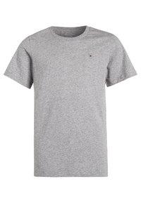 Tommy Hilfiger - 2 PACK - T-shirts basic - white/grey heather - 2