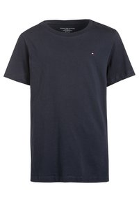 Tommy Hilfiger - 2 PACK - T-shirt - bas - white/navy - 2