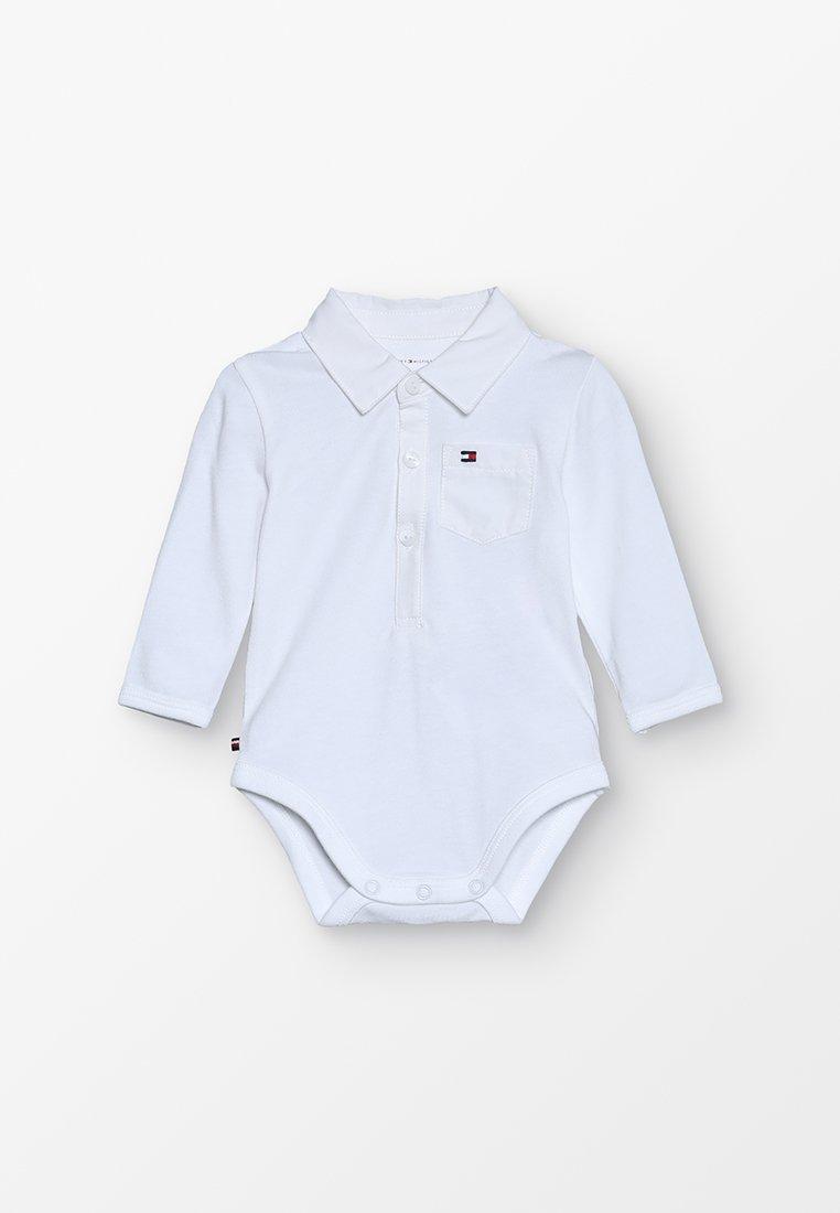 Tommy Hilfiger - BABY BOY COLLAR  - Body - bright white