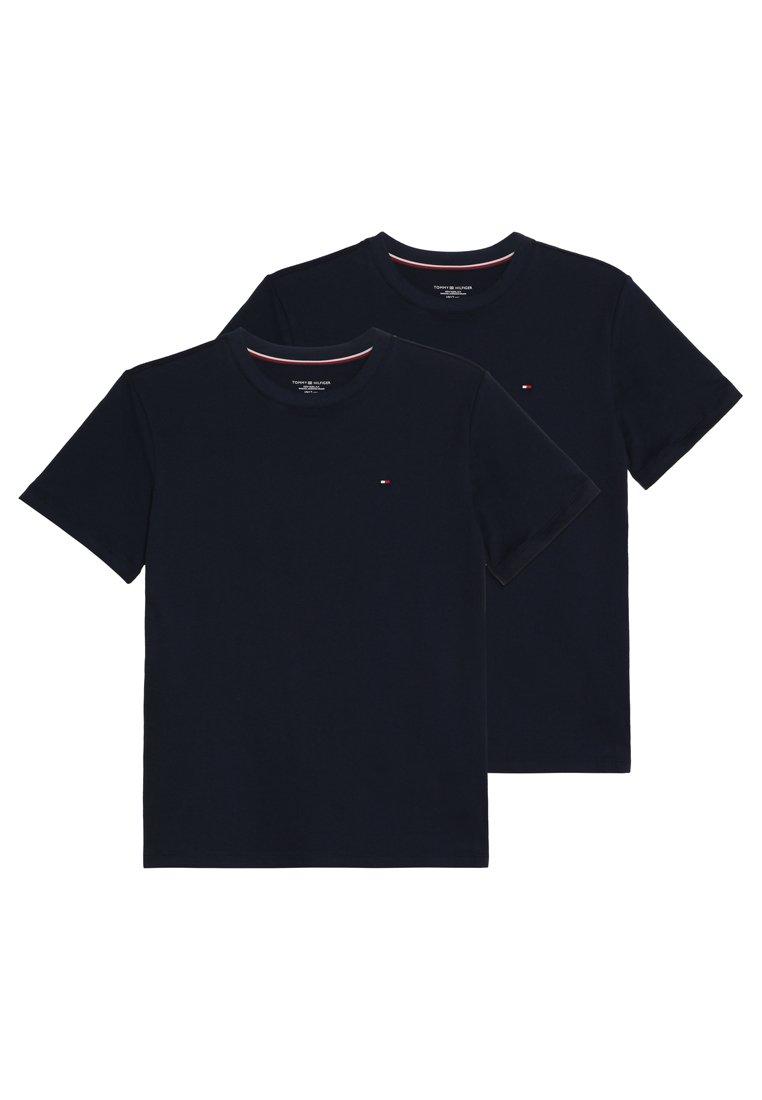 Tommy Hilfiger - TEE 2 PACK - Unterhemd/-shirt - navy blazer