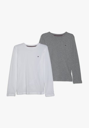 TEE 2 PACK - Long sleeved top - white