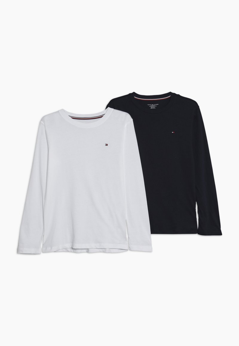 Tommy Hilfiger - TEE 2 PACK - Long sleeved top - white