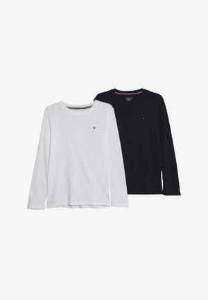 TEE 2 PACK - T-shirt à manches longues - white