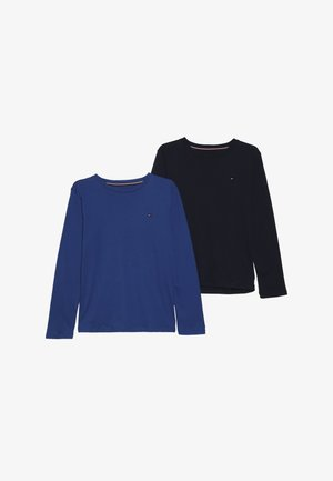 TEE 2 PACK - T-shirt à manches longues - blue
