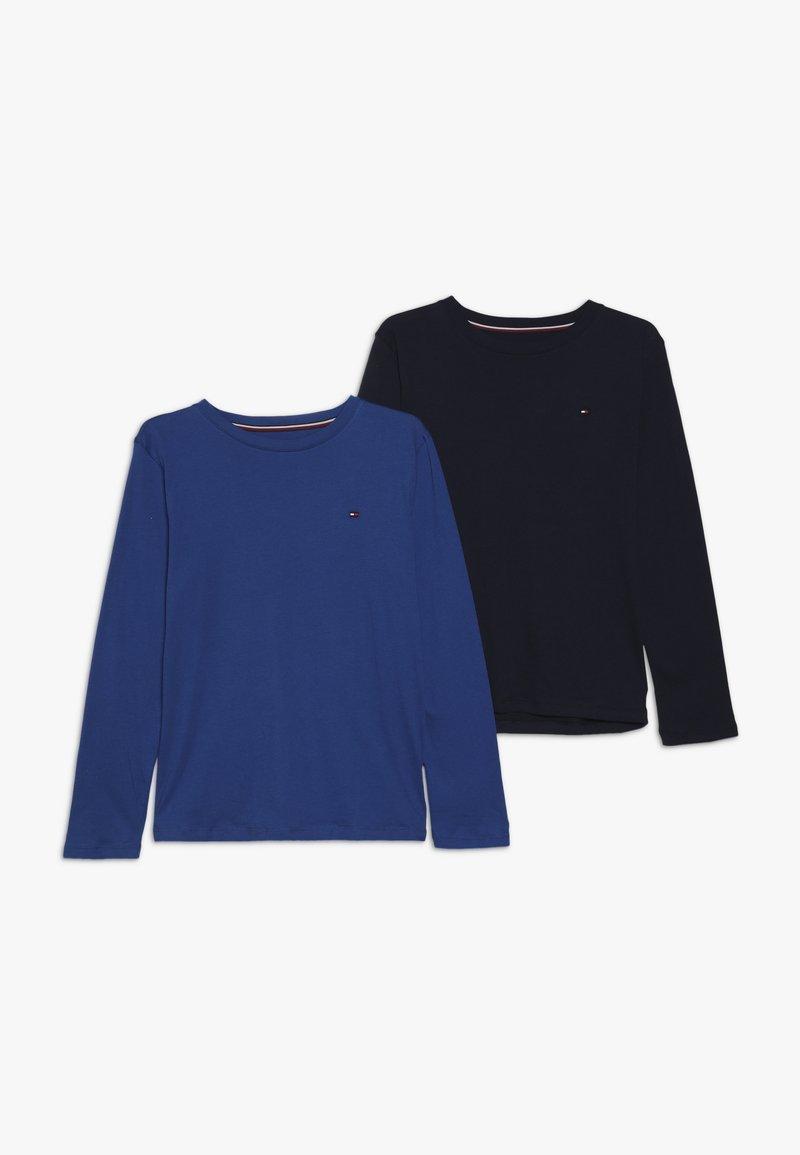 Tommy Hilfiger - TEE 2 PACK - T-shirt à manches longues - blue