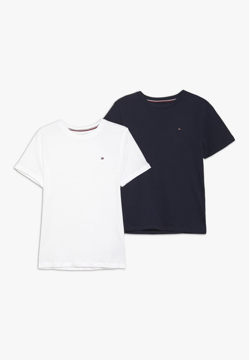 Tommy Hilfiger - TEE 2 PACK  - T-shirts basic - multi