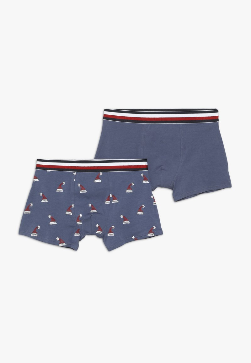 Tommy Hilfiger - TRUNK HOLIDAY HATS 2 PACK  - Panty - blue