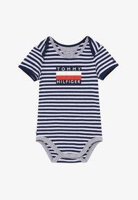Tommy Hilfiger - BABY STRIPED - Body - blue - 2