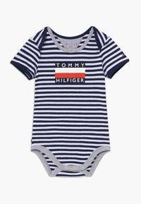 Tommy Hilfiger - BABY STRIPED - Body - blue - 0