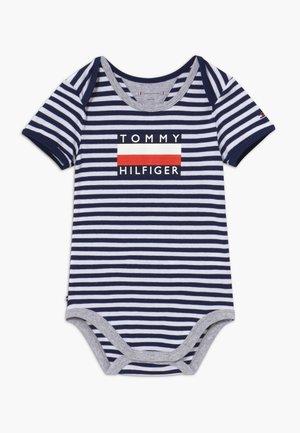 BABY STRIPED - Body - blue