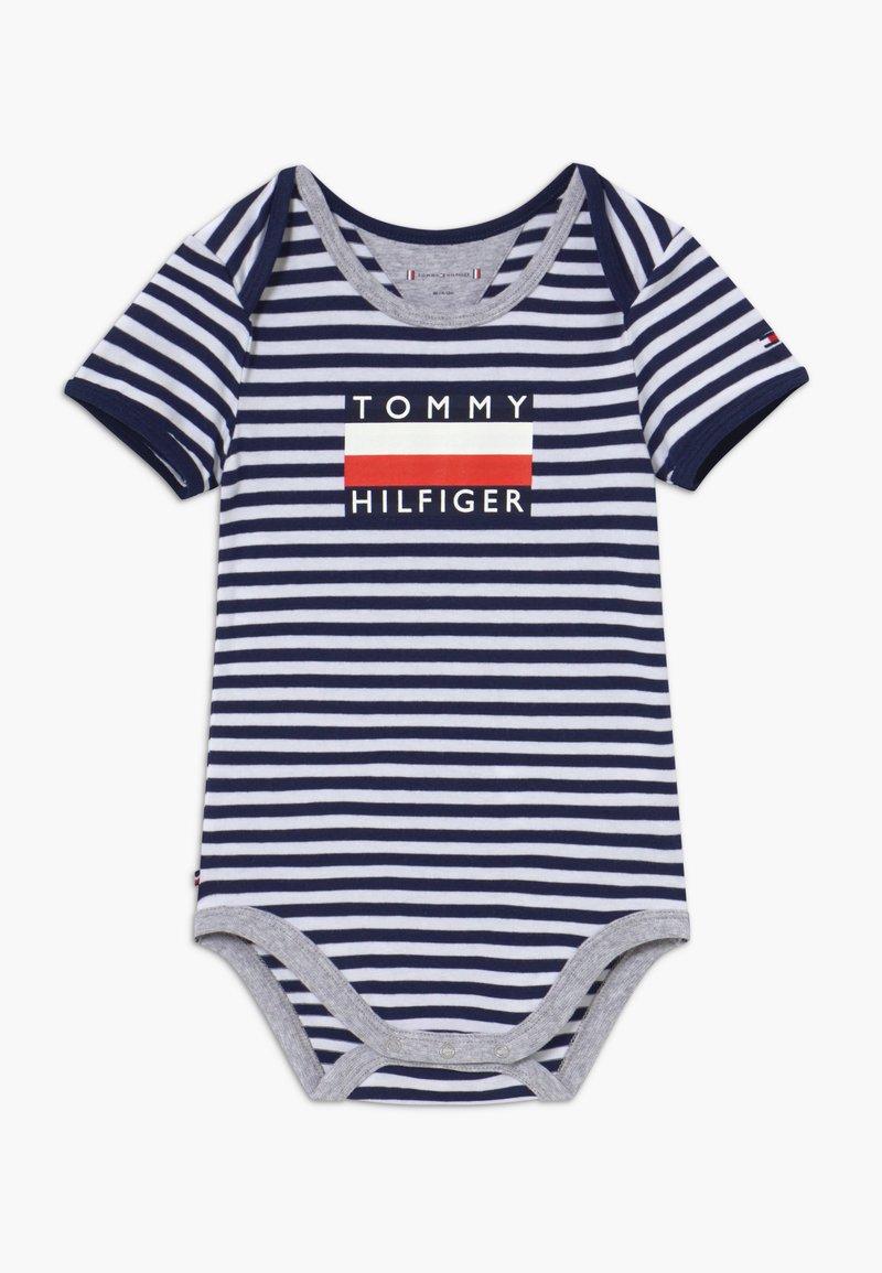 Tommy Hilfiger - BABY STRIPED - Body - blue