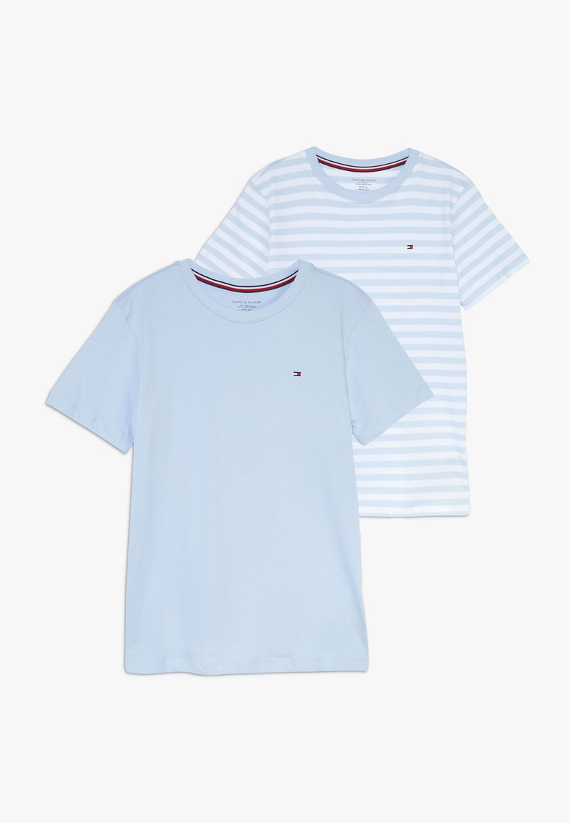 Tommy Hilfiger - TEE STRIPE 2 PACK - Camiseta interior - blue