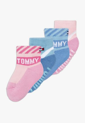 BABY SOCK 4 PACK - Calcetines - light pink/white/blue