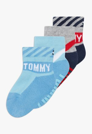 BABY SOCK 4 PACK - Ponožky - blue/red