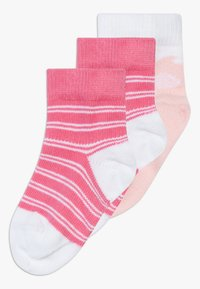 Tommy Hilfiger - BABY 3 PACK - Ponožky - light pink/white - 0