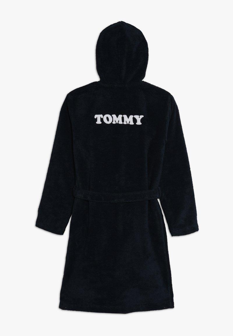 Tommy Hilfiger - BATHROBE - Dressing gown - blue