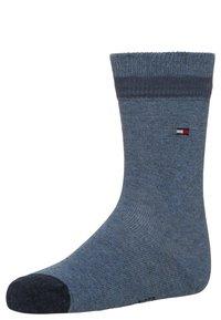 Tommy Hilfiger - BASIC STRIPE 2 PACK - Ponožky - jeans - 1