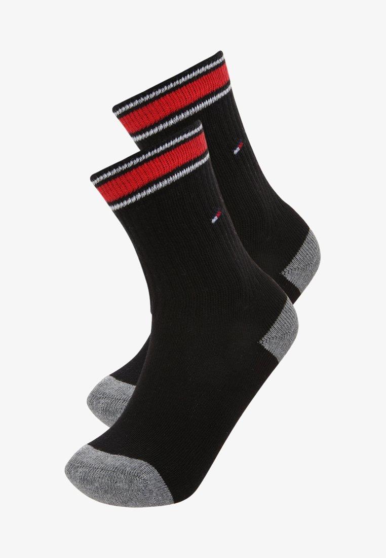 Tommy Hilfiger - ICONIC SPORTS 2 PACK - Ponožky - black
