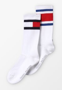 Tommy Hilfiger - FLAG 2 PACK - Calze - white - 0