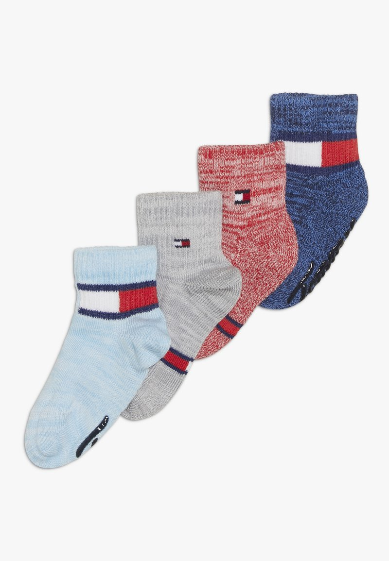Tommy Hilfiger - BABY SOCK RUN ABS 4 PACK - Ponožky - blue/white
