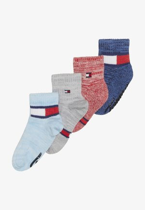 BABY SOCK RUN ABS 4 PACK - Ponožky - blue/white