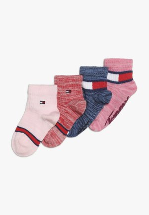 BABY SOCK RUN ABS 4 PACK - Ponožky - pink