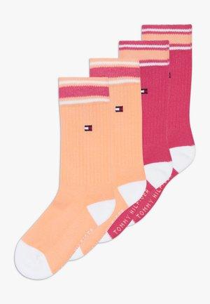 ICON SPORTS 4 PACK - Ponožky - light pink