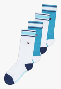 Tommy Hilfiger - ICON SPORTS 4 PACK - Ponožky - blue - 0