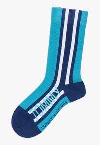 Tommy Hilfiger - BOLD STRIPE  4 PACK - Ponožky - blue - 3