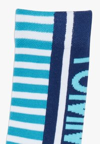 Tommy Hilfiger - BOLD STRIPE  4 PACK - Ponožky - blue - 5