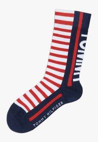 Tommy Hilfiger - BOLD STRIPE  4 PACK - Ponožky - blue - 2