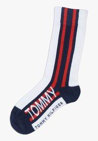 Tommy Hilfiger - BOLD STRIPE  4 PACK - Ponožky - blue - 1