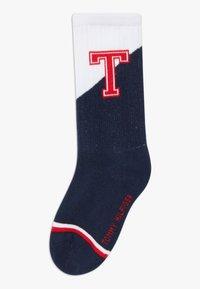 Tommy Hilfiger - PATCH 4 PACK - Ponožky - light pink/blue - 3