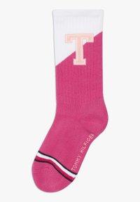 Tommy Hilfiger - PATCH 4 PACK - Ponožky - light pink/blue - 2