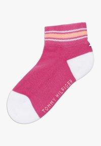 Tommy Hilfiger - ICON SPORTS QUARTER 4 PACK - Ponožky - light pink - 1