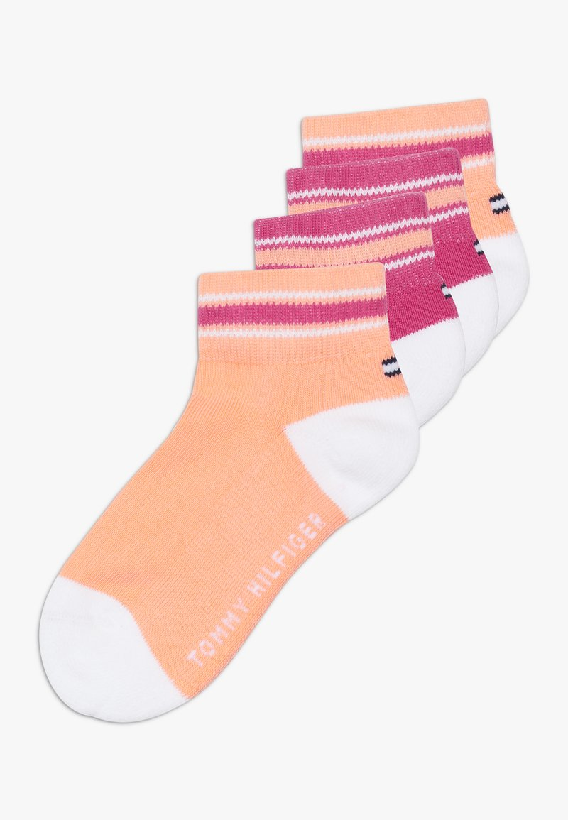 Tommy Hilfiger - ICON SPORTS QUARTER 4 PACK - Ponožky - light pink