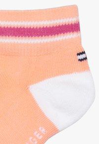 Tommy Hilfiger - ICON SPORTS QUARTER 4 PACK - Ponožky - light pink - 3