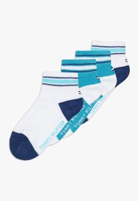 Tommy Hilfiger - ICON SPORTS QUARTER 4 PACK - Ponožky - blue - 0