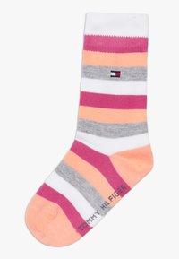 Tommy Hilfiger - BASIC STRIPE 4 PACK - Ponožky - light pink - 1