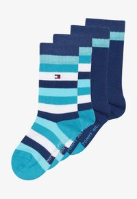 Tommy Hilfiger - BASIC STRIPE 4 PACK - Ponožky - blue - 2