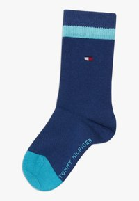Tommy Hilfiger - BASIC STRIPE 4 PACK - Ponožky - blue - 1