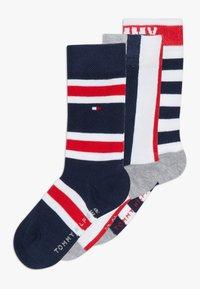 Tommy Hilfiger - KIDS GIFTBOX 3 PACK - Ponožky - blue - 0
