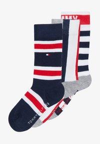 Tommy Hilfiger - KIDS GIFTBOX 3 PACK - Ponožky - blue - 3