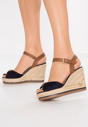High Heel Sandalette - navy