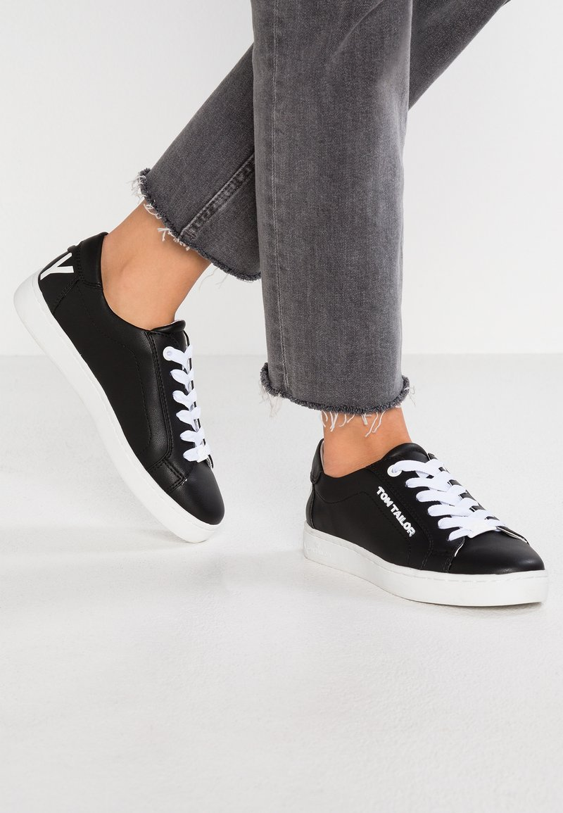 TOM TAILOR - Sneaker low - black